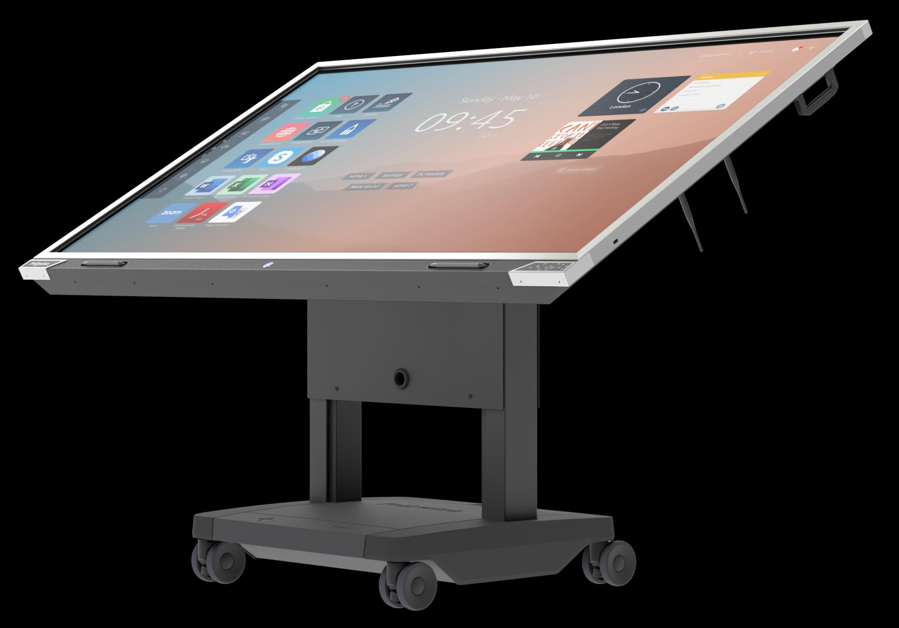 Prowise-touchscreen-mobilt-stativ-toddler-barnehage2