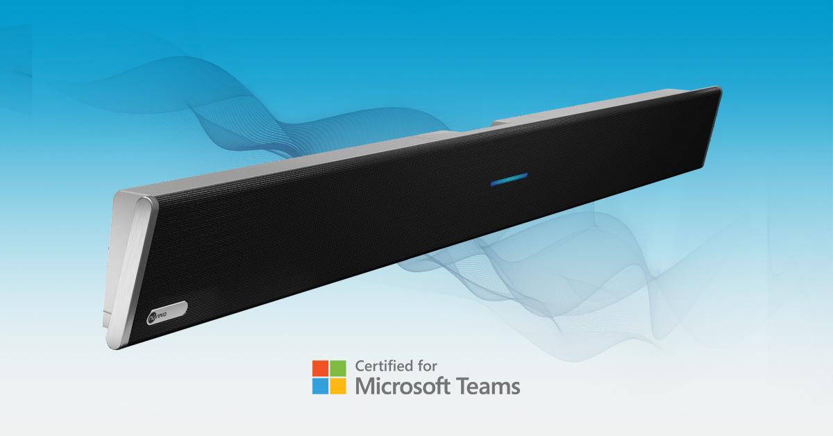 Nureva HDL300 for videokonferanse er Microsoft Teams sertifisert!