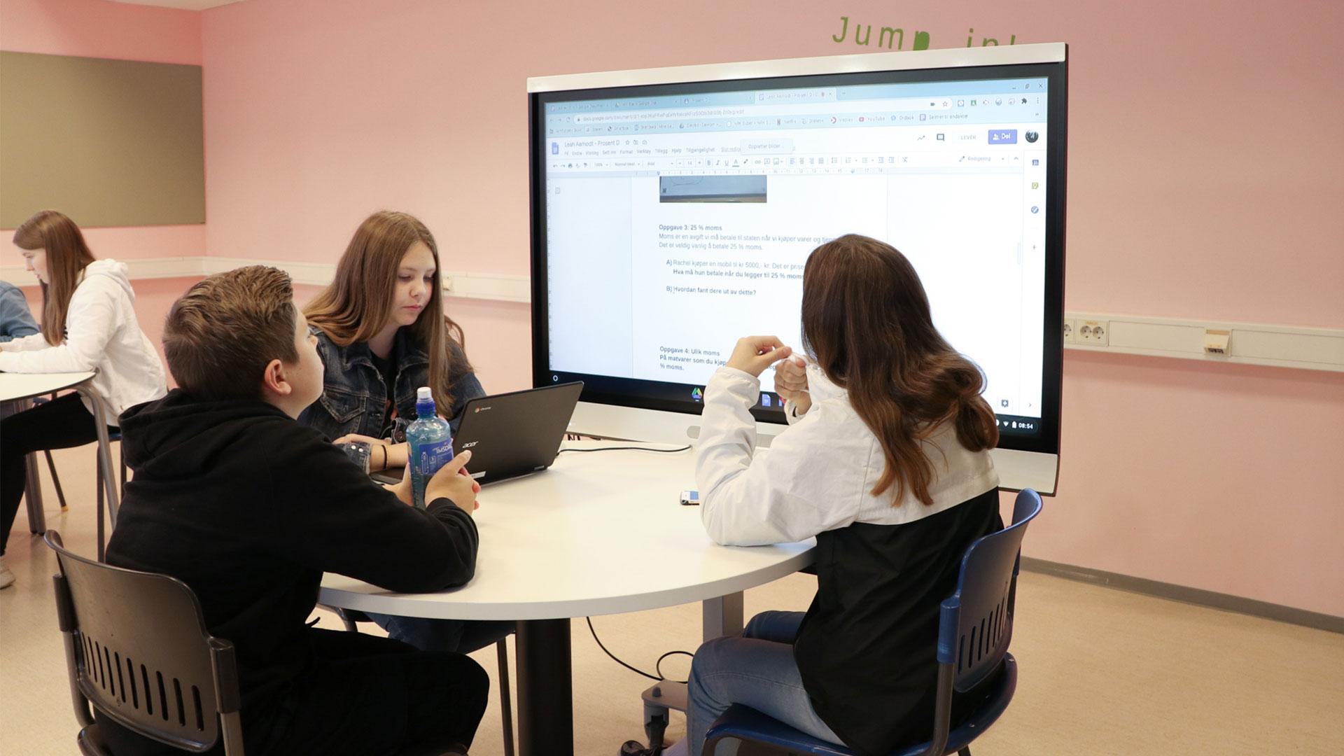 Future Classroom Lab - Samfundet skole utfordrer tradisjonell undervisning