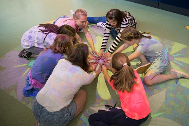 Bevegelse, lek og læring med interaktivt aktivitetsgulv