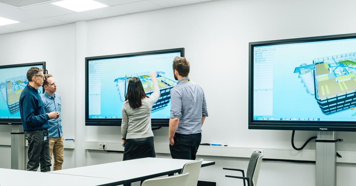 Smartere møter med interaktive skjermer